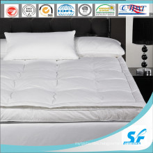 Luxury Twin Layers Goose Down Mattress Topper for Five Star Hotel